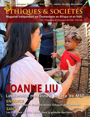 Magazine Éthiques et Sociétés (Sept.Nov 2013)