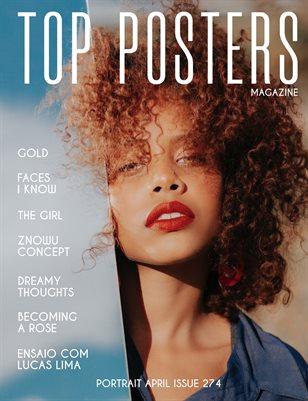 TOP POSTERS MAGAZINE - PORTRAIT APRIL (Vol 274)