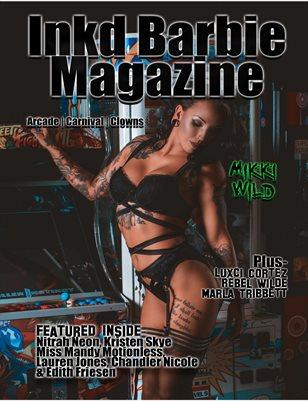 Inkd Barbie Magazine - Wicked Issue - Mikki Wild