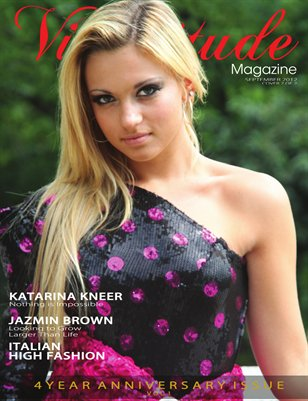 Vicissitude Magazine September 2012 - 4 Year Anniversary Issue Vol. 1 - Katarina Kneer Cover