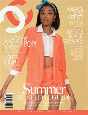 COCO Fashion Magazine - The Summer Must Have Guide - August 2018