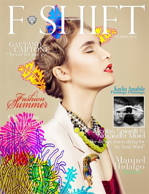 Fashion Shift Magazine Summer 2014 | Cover 2