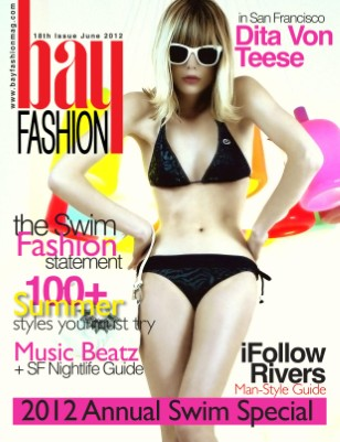BAYFashion June 2012 - Swimsuit Annual Issue - Green Print