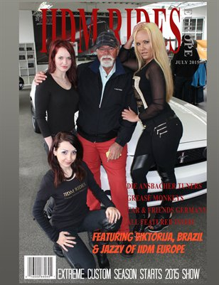 IIDM RIDES Europe Edition Magazine - July 2015 Issue