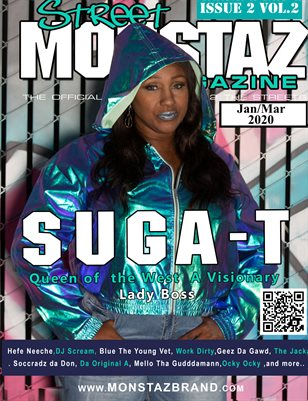 Suga-T: 1st Lady of  West Coast.!