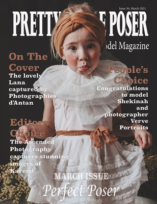 Pretty Little Poser Model Magazine - Issue 36 - Perfect Posers - March 2021