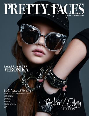 Pretty Faces Model Magazine | Rocker/Edgy Edition - Issue 10