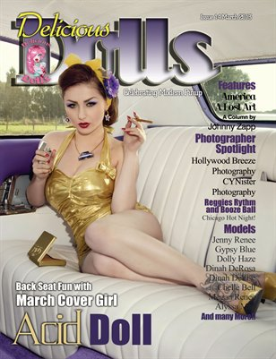 Delicious Dolls March 2013 Issue - Acid Doll Cover