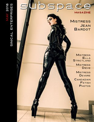 subspace May 2018 issue - Mistress Jean Bardot