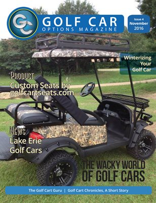 Golf Car Options Magazine - November 2016