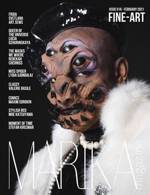 MARIKA MAGAZINE FINE-ART (ISSUE 616- February)