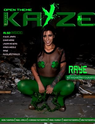 Kayze Magazine issue (raye ) open theme