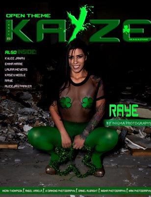 Kayze Magazine issue (raye ) open theme