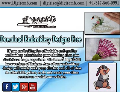 Download Embroidery Designs Free