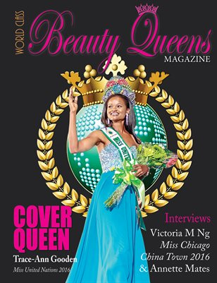 World Class Beauty Queens Magazine with Trace-Ann Gooden