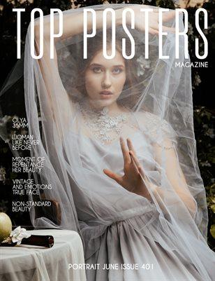 TOP POSTERS MAGAZINE- PORTRAIT JUNE (Vol 401)