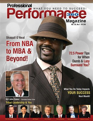 Shaquil O'Neal/Chief Bill John Baker Edition - PERFORMANCE/P360 Magazine - V. 20, I.1