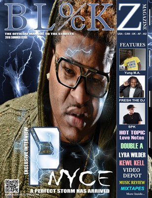 2016 Summer Issue ft P-Nyce