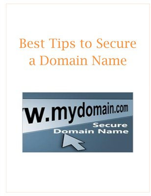 Best Tips to Secure a Domain Name