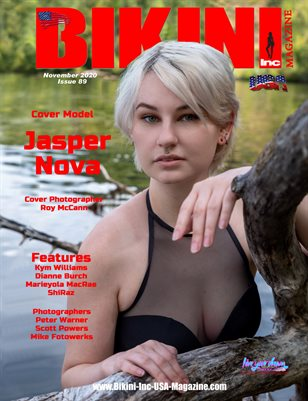 BIKINI INC USA MAGAZINE - Cover Model Jasper Nova - November 2020