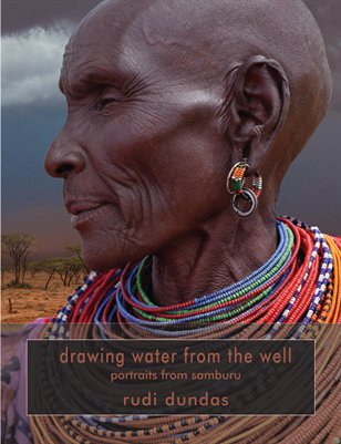 drawing water from the well - portraits from samburu