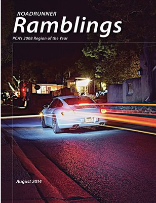 Roadrunner Ramblings August 2014