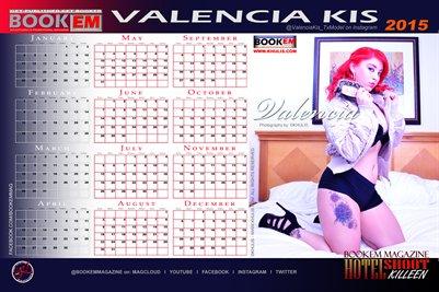 Valencia Kis 2015 Calendar 1