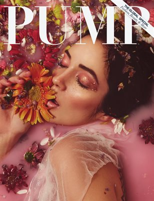PUMP Magazine - The Floral Beauty Edition Featuring Juan Chu