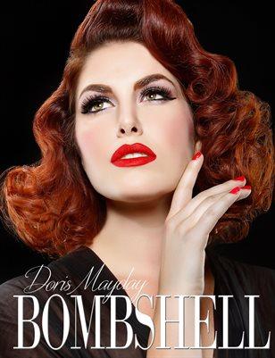 BOMBSHELL Magazine August 2018 BOOK 1 - Doris Mayday Cover