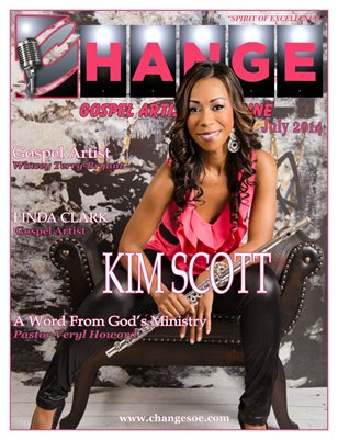 Change Gospel Artist Magazine July 2014 Issue