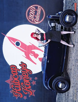 Hubcap Honeys 2013 Hot Rod Custom Pin Up Calendar
