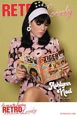 Retro Lovely No.153 – Ashlynn Noel Cover Poster
