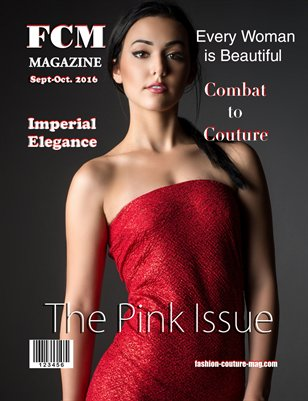 "Fashion Couture Magazine ""Pink Issue"" Vol.2 No.17"