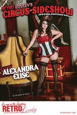 Circus & Sideshow 2021 Vol.1 – Alexandra Elise Cover Poster