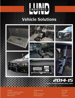 Lund Industries 2014/15 Product Catalog