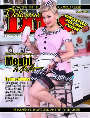 Delicious Dolls June 2019 Meghi Misfit Cover