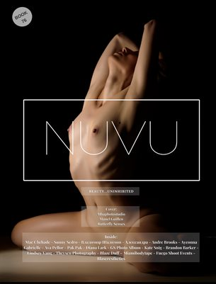 Nuvu Magazine Nude Book 76 Featuring Butterfly Senses