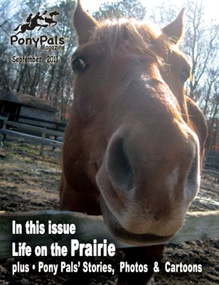 Pony Pals Magazine --  September 2011 -- Volume1 #4