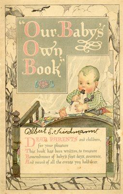 ALBERT FRIEDMANN BABY BOOK