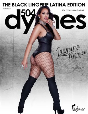 504Dymes Black Lingerie Latina Edition Vol. 2