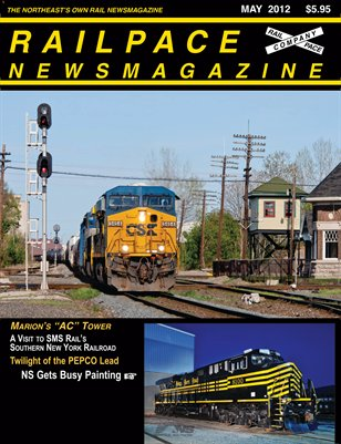 MAY 2012 Railpace Newsmagazine