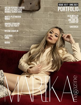 MARIKA MAGAZINE PORTFOLIO (ISSUE 1017 - JUNE)