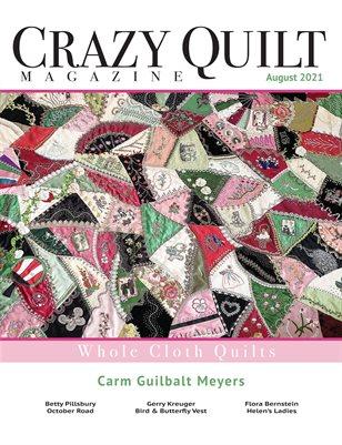 Crazy Quilt Magazine August 2021