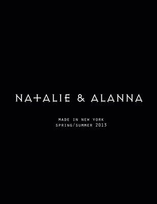 Natalie & Alanna Spring/Summer 2013