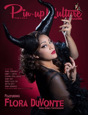 Pinup Kulture Magazine Volume 4, Issue 10-Halloween