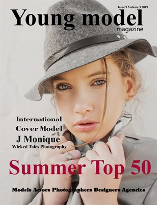 Young Model magazine Issue 9 Volume 3 2019 Summer Top 50