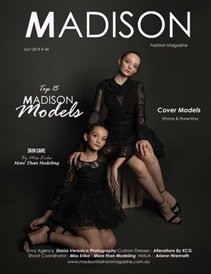 MADISON Fashion Magazine - JULY 2019 # 48