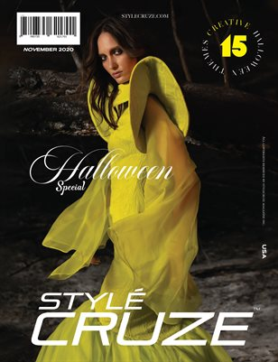 NOVEMBER 2020 (Halloween Issue) | STYLÉCRUZE Magazine