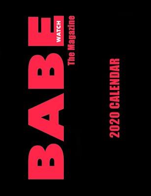 BABE WATCH 2020 CALENDAR