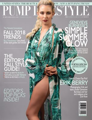 PUMP Lifestyle - The Beauty & Fashion Edition | October 2018 Vol.6